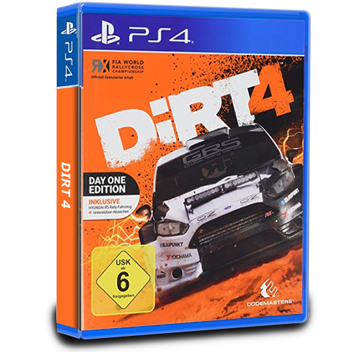 DiRT 4 Day One Edition PlayStation 4