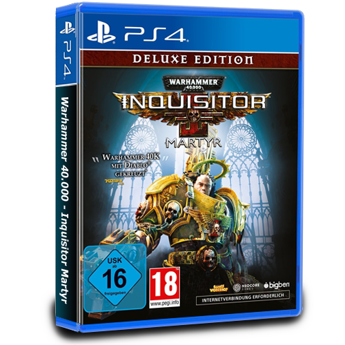Warhammer 40.000  Inquisitor Martyr Deluxe Edition - PS4