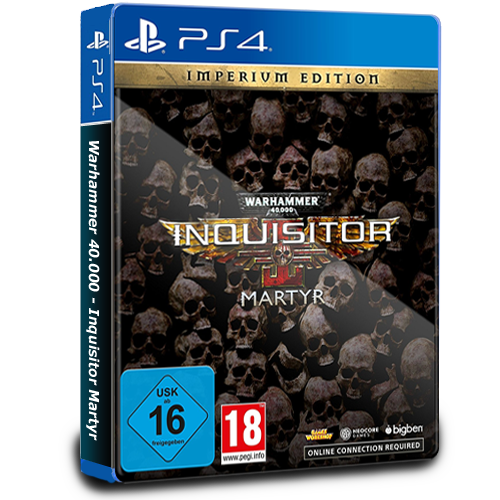 Warhammer 40.000 - Inquisitor Martyr Imperium Edition - PS4