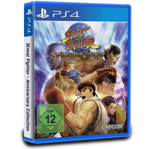 Street Fighter Anniversary Collection PlayStation 4