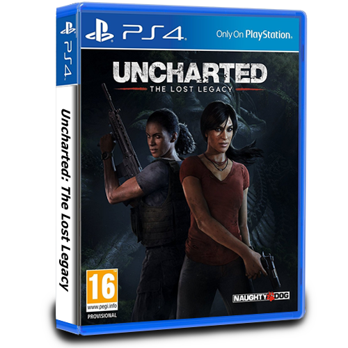 Uncharted: The Lost Legacy PEGI - PS4