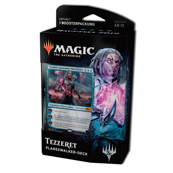 Magic the Gathering Core 2019 Planeswalker Deck Tezzeret - Grausamer Maschinist (deutsch)
