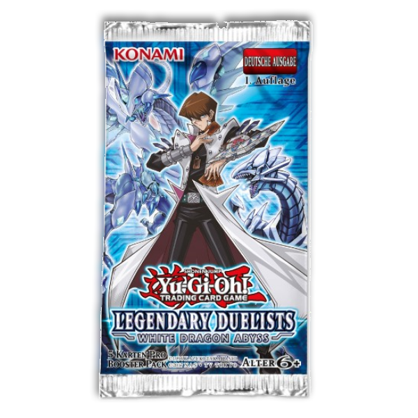 Yu-Gi-Oh! TRADING CARD GAME: Booster White Dragon Abyss (Deutsch)