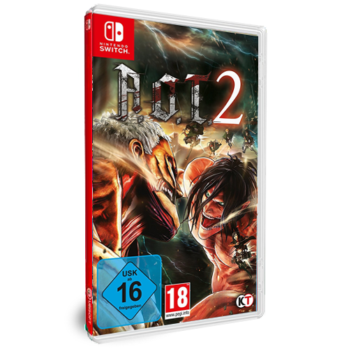 AoT 2 (based on Attack on Titan)  Nintendo Switch