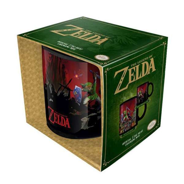 The Legend of Zelda Thermoeffekt Tasse Battle