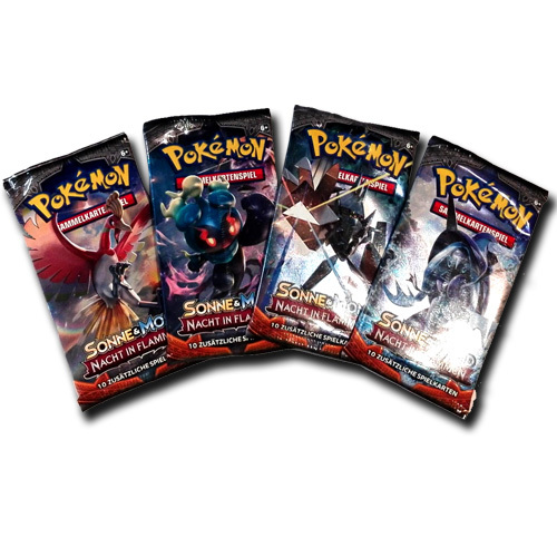 Pokemon Booster Sonne & Mond: Nacht in Flammen (Deutsch)