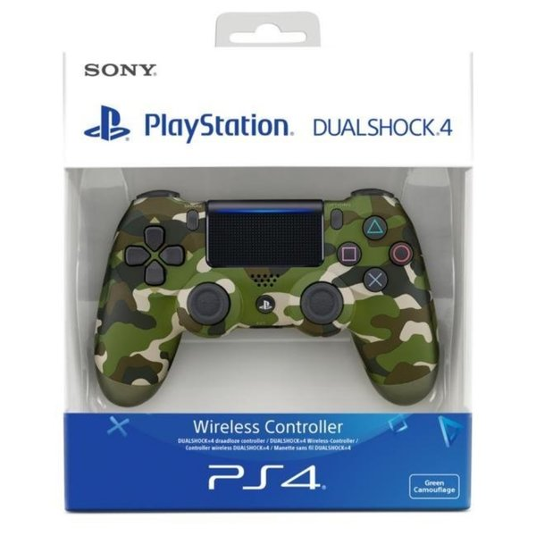 PlayStation 4 - DualShock 4 Wireless Controller, camouflage