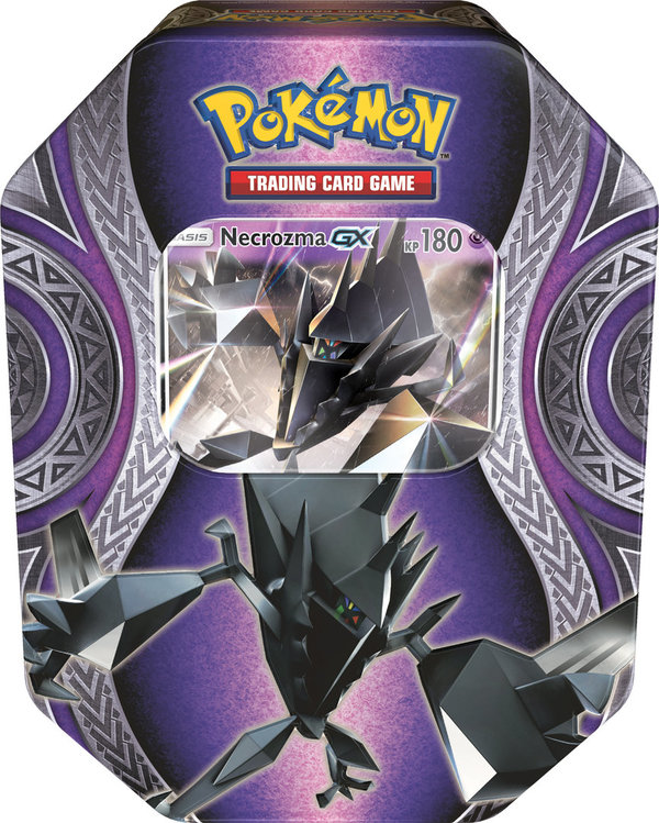 Pokemon  Tin Box #69 Necrozma GX Herbst 2017 (Deutsch)