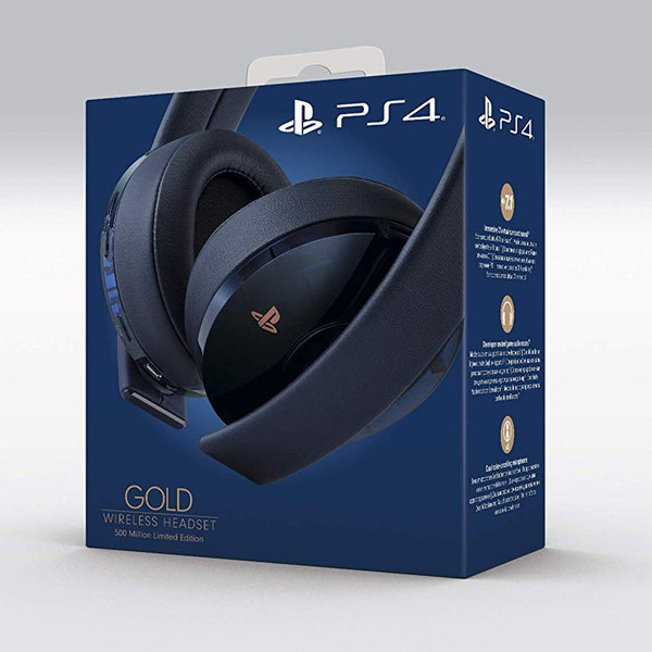 PlayStation 4 Wireless Headset - Navy Blue