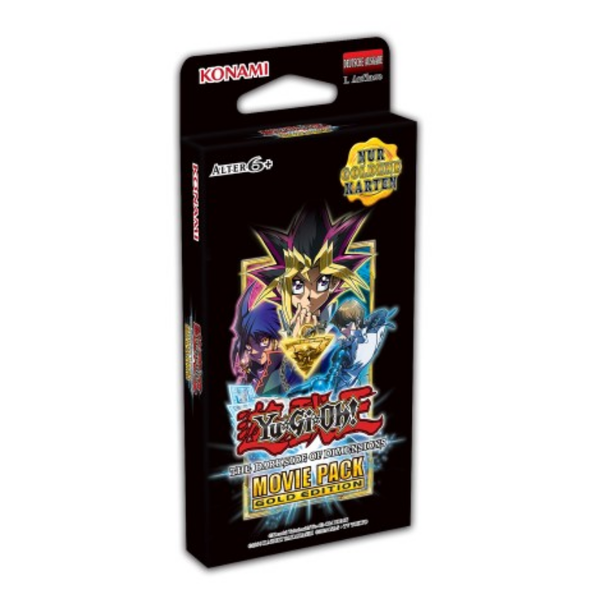 Yu-Gi-Oh! The Dark Side of Dimensions Movie Pack Gold Edition (deutsch)