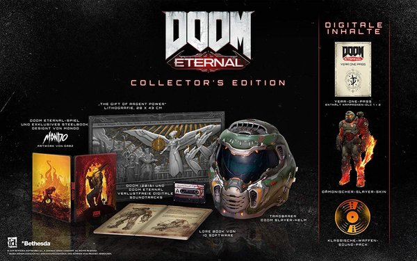 DOOM Eternal - Collectors Edition - PlayStation 4