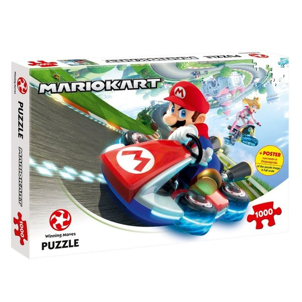 Puzzle Mario Kart - Funracer 1000 Teile