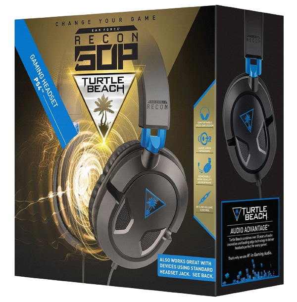 Turtle Beach Ear Force Recon 50P Gaming Headset [PlayStation 4]