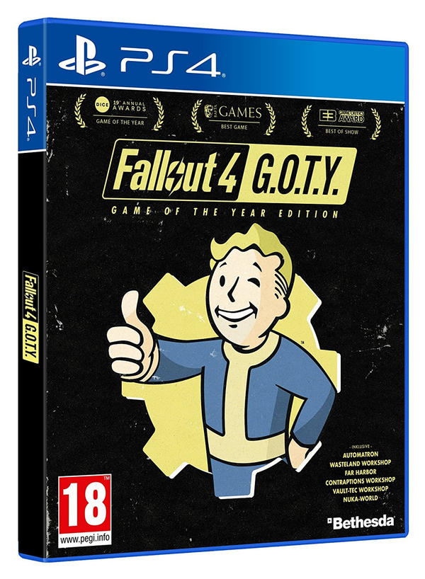 Fallout 4 - Game of the Year Edition PEGI AT PS4