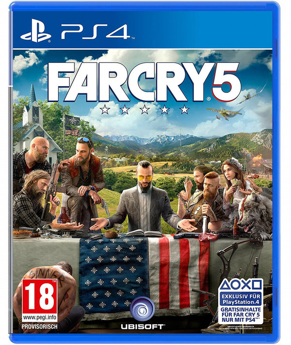 Far Cry 5 PEGI AT PlayStation 4