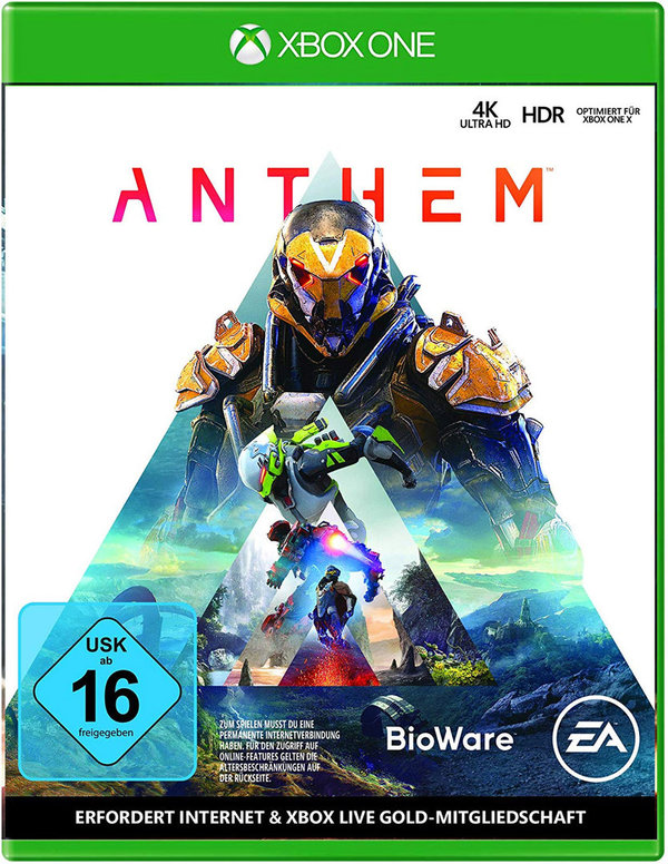 Anthem - Standard Edition - [XBOX ONE]
