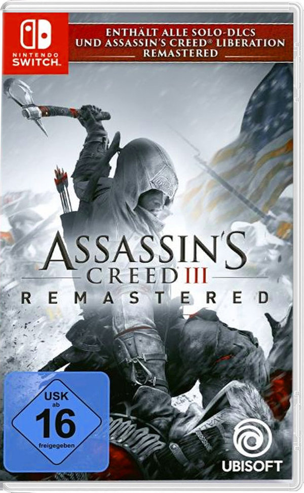 Assassin's Creed III Remastered  [Ninetndo Switch]