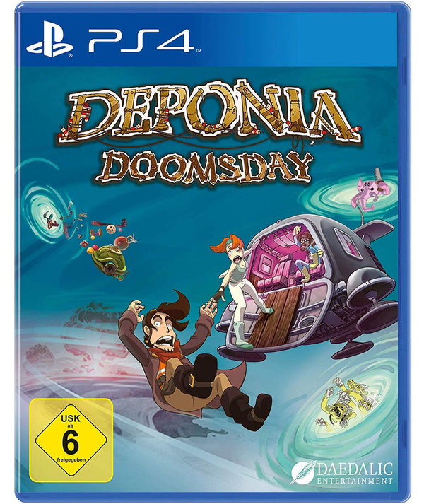 Deponia Doomsday PlayStation 4