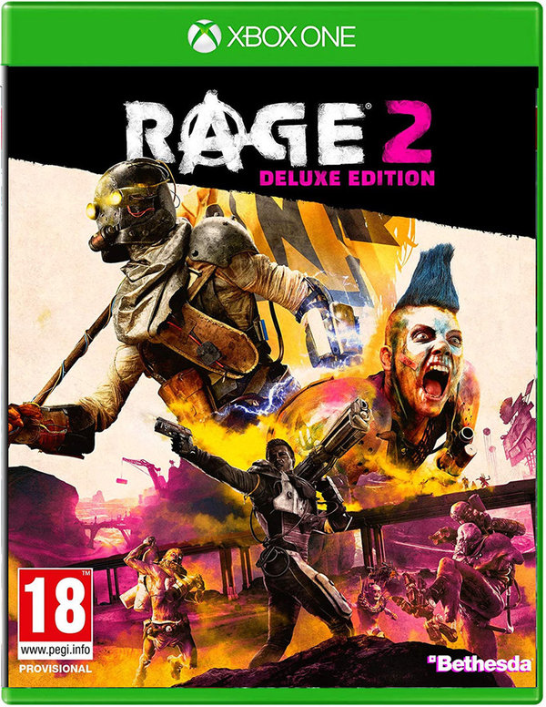 RAGE 2 DELUXE EDITION  (PEGI - AT)  [XBOX ONE]