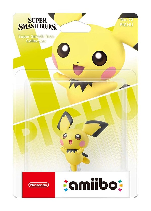 amiibo Pichu Super Smash Bros. Collection