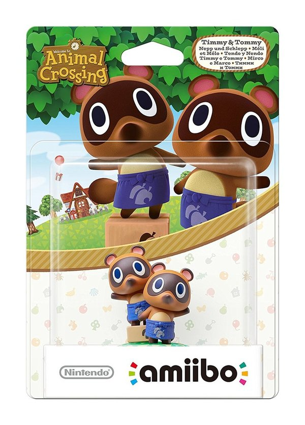 amiibo Animal Crossing Nepp und Schlepp   Animal Crossing Collection