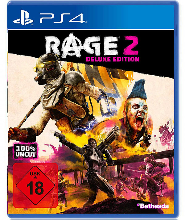 RAGE 2 DELUXE EDITION  100% uncut  [PlayStation 4]