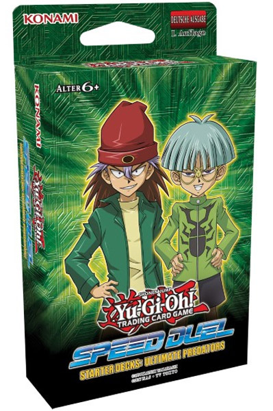 Yu-Gi-Oh! TRADING CARD GAME Speed Duel Starter Decks: Ultimate Predators (Deutsch)