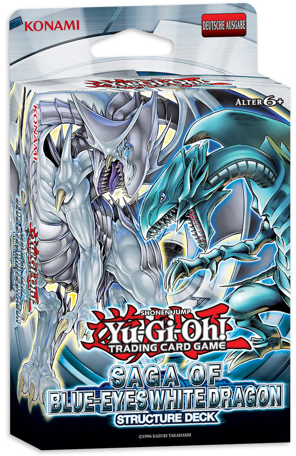 Yu-Gi-Oh! Structure Deck: Saga of Blue-Eyes White Dragon (deutsch)
