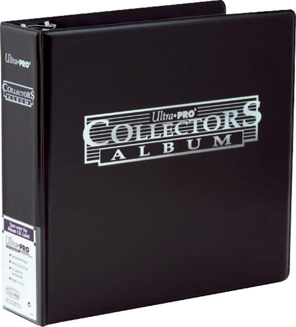 Black Collector Card Album