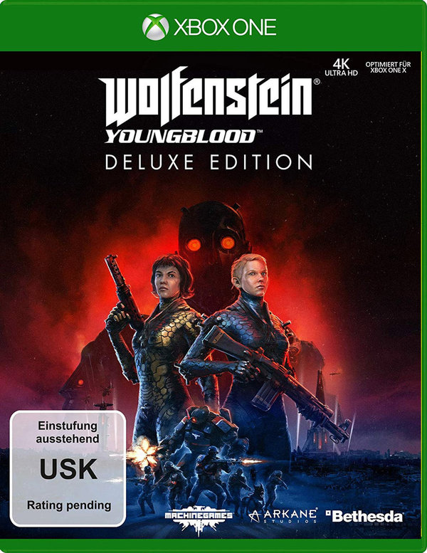 Wolfenstein: Youngblood - Deluxe Edition -UK Version - XBOX ONE