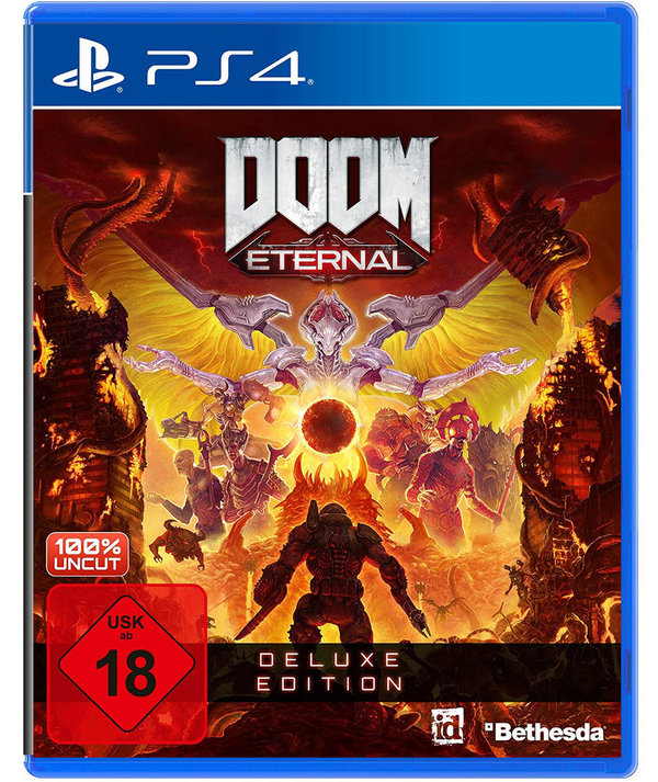 DOOM Eternal - Deluxe Edition  - PlayStation 4