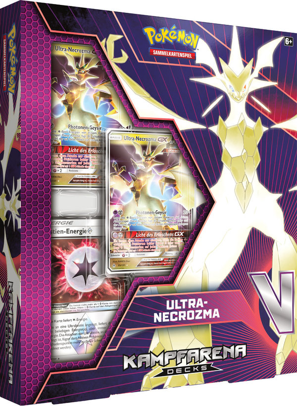 Pokemon Ultra Necrozma GX Kampfarena Deck  - Deutsch
