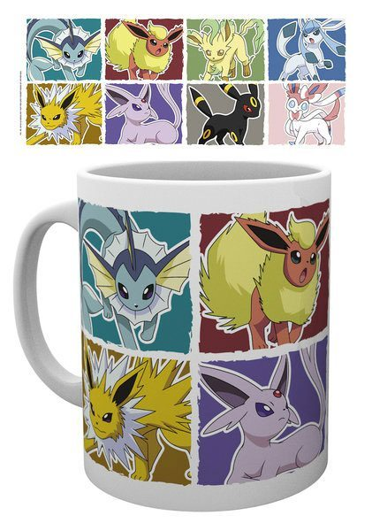 Pokemon Tasse Evoli Evolution