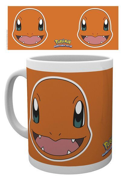 Pokemon Tasse Glumanda Face