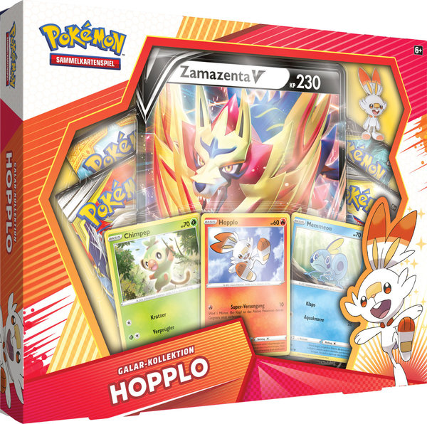 POKEMON Galar-Kollektion HOPPLO (Deutsch)