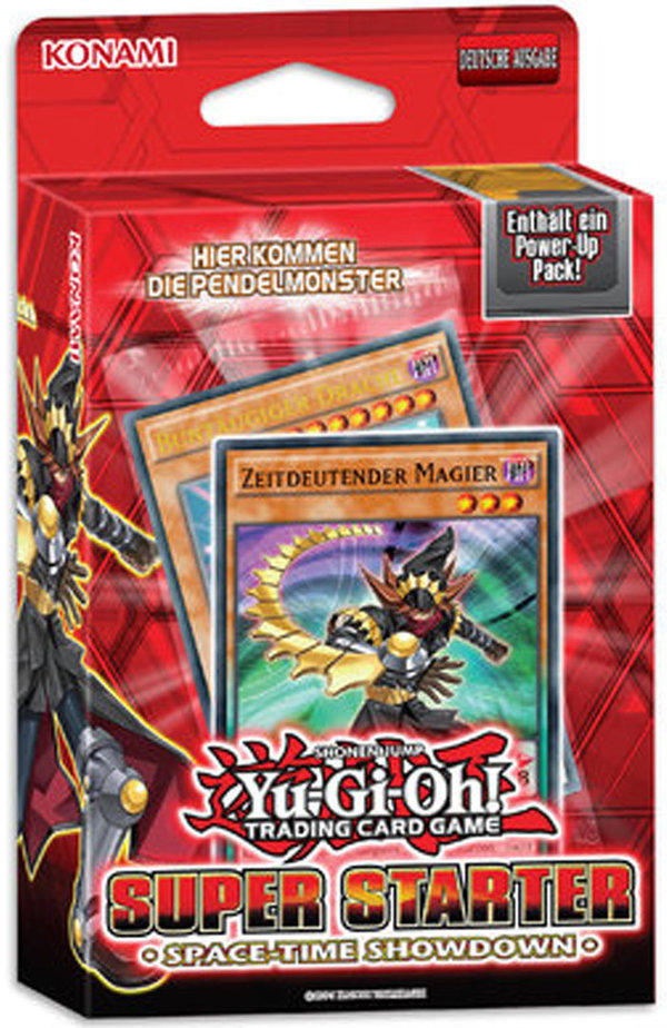 Yu-Gi-Oh! Super Starter Deck  2014:  Space-Time (Deutsch)