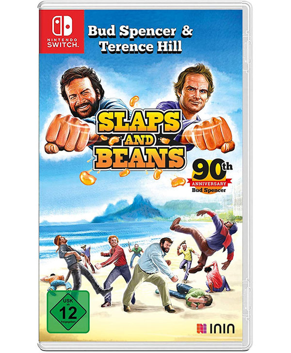 Bud Spencer & Terence Hill Slaps and Beans Anniversary Edition - Nintendo Switch