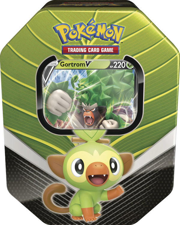 Pokemon #82 Tin Box 2020 Chimpep - Gortrom V (deutsch)