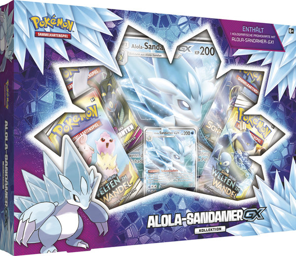 Pokemon Alola-Sandamer-GX Kollektion (deutsch)