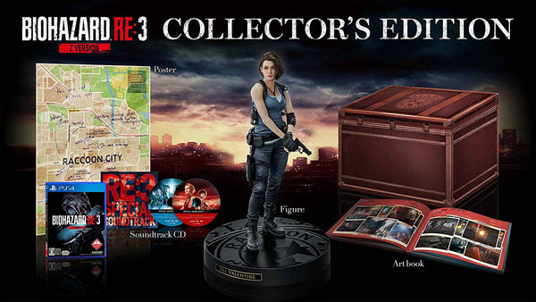 Resident Evil 3 Collector's Edition - PlayStation 4
