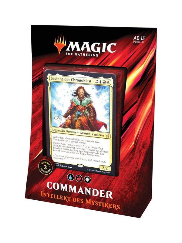 Magic the Gathering Commander 2019 Deck Mystikers