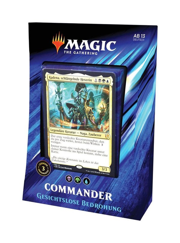 Magic the Gathering Commander 2019 Deck Bedrohung