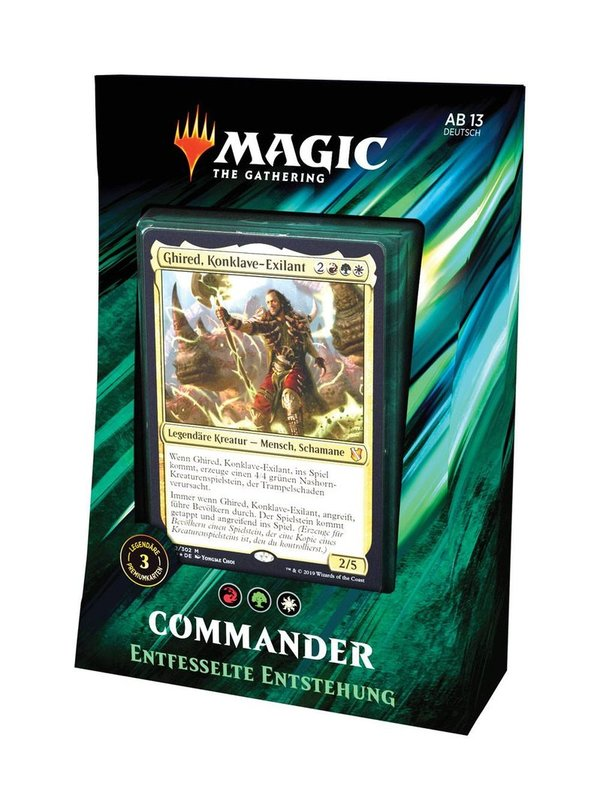 Magic the Gathering Commander 2019 Deck Entstehung