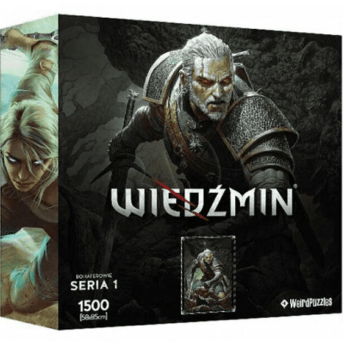 Puzzle Witcher Series 1 - Geralt 1500 Teile