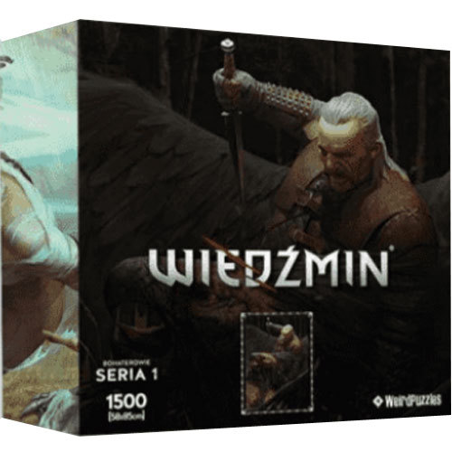 Puzzle Witcher Series 1 - Vesemir 1500 Teile