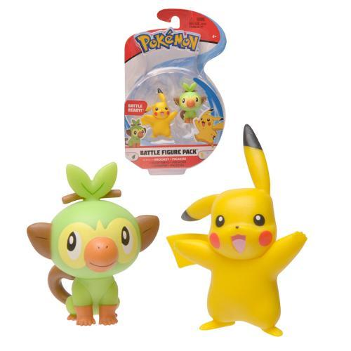 "Pokémon Mini Figuren Serie 5 ""PIKACHU & CHIMPEP"""