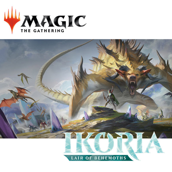 Magic: The Gathering - Ikoria - Reich der Behemoths Commander Deck V (deutsch)