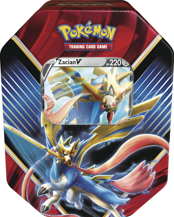 Pokemon #85 Tin Box Zacian-V (deutsch)