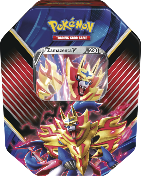 Pokemon #86 Tin Box Zamazenta-V (deutsch)