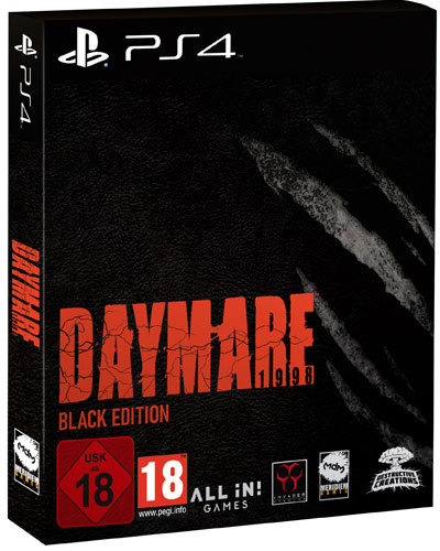 Daymare: 1998 - Black Edition - PlayStation 4
